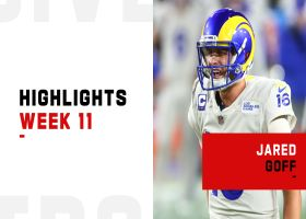 Jared Goff's best throws from 3-TD game | Week 11