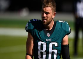 Garafolo: What Ertz must do to be ready to suit up vs. Packers in Week 13