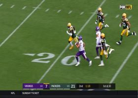 Chad Beebe presses turbo on 61-yard catch and run