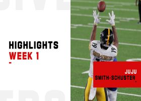 Every JuJu Smith-Schuster catch from 2-TD game | Week 1