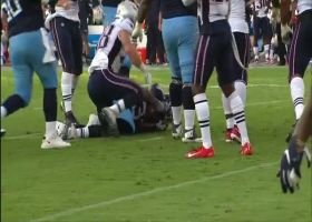 Dion Lewis shows cat-like reflexes on slick one-handed snag