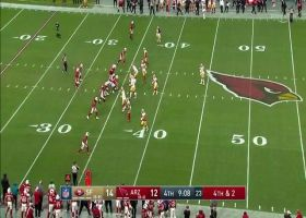 Fred Warner sniffs out Cardinals' fourth-down call for key PBU