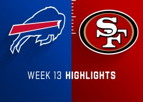 Bills vs. 49ers highlights | Week 13