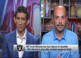 Garafolo: Tyrell Williams trying to work through torn labrum