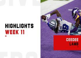CeeDee Lamb's biggest plays vs. the Vikings | Week 11