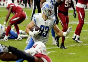 Lions rub routes to free up Jesse James for fourth-down TD