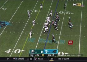Sam Darnold lasers 24-yard pass to leaping Ian Thomas