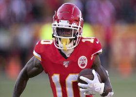 Will Tyreek Hill hit 2,000 receiving yards in '20?