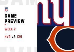 Giants vs. Bears preview | Week 2