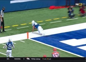 Trey Burton scores TD No. 2 with toe-drag swag on lunging red-zone grab