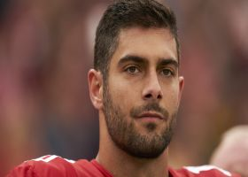 Pelissero: Fair to say  Jimmy Garoppolo's future with 49ers 'up in the air'