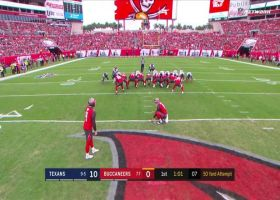 Matt Gay nails 50-yard FG to put Bucs on board