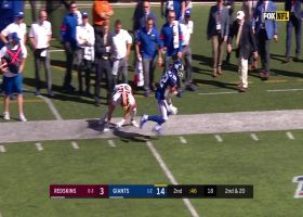 Wayne Gallman fights his way for 20-yard first-down pickup