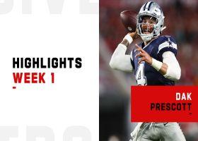 Dak Prescott's best passes in 403-yard return to play | Week 1