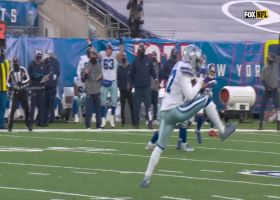 Donovan Wilson comes down with tipped INT