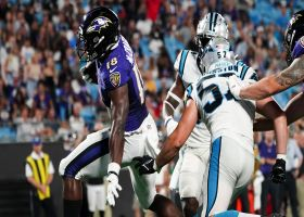 Nate McCrary slices through Panthers defense for walk-in TD
