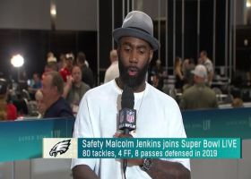 Malcolm Jenkins calls contract situation with Eagles 'out of my control'