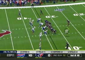 Jerry Hughes' relentless effort earns him his second sack