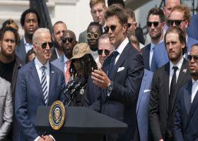 Brady jokes about Bucs' Super Bowl season, 2020 election