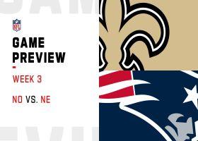 Saints vs. Patriots preview | Week 3