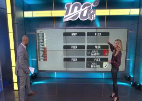 Cynthia Frelund projects top fantasy scorers for Steelers-Browns on 'TNF'