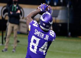 Irv Smith Jr. cashes in on Vikes' takeaway with open TD in the flat