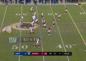 Daniel Jones' Hail Mary attempt falls incomplete to send game to OT