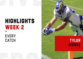 Every catch from Tyler Higbee's 3-TD game | Week 2