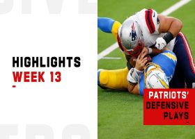Pats' best plays on defense, special teams vs. Chargers | Week 13
