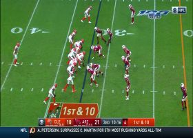 Nick Chubb weaves through Cardinals' D for 29-yard gain