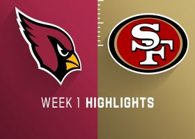 Cardinals vs. 49ers highlights | Week 1