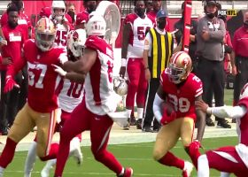 Tip drill! Jaquiski Tartt picks off Kyler's batted ball for key INT