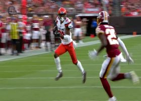'Hollywood' Higgins dodges Redskins defenders on 38-yard catch and run