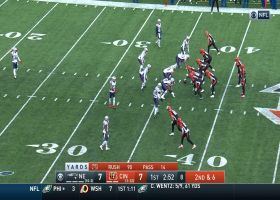 Tyler Eifert elevates to bring down 19-yard catch