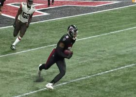Kyle Pitts breaks loose for explosive 27-yard gain on first catch
