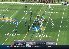 Herbert hits Henry on flat-footed third-down throw for 16 yards
