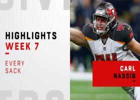 Every Carl Nassib sack | Week 7