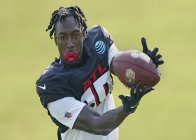 Tom Pelissero identifies the key training camp position battles for the Falcons