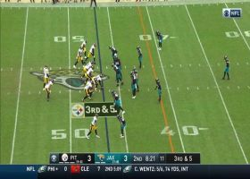 Big Ben, James Washington connect for picturesque third-down pickup