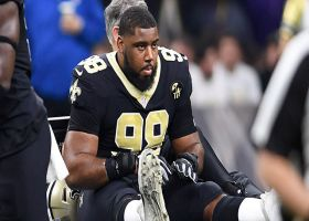 How will New Orleans Saints handle loss of defensive tackle Sheldon Rankins vs. the Los Angeles Rams?