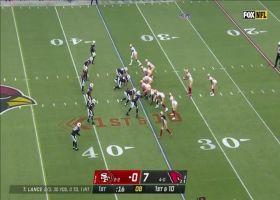 Lance finds Deebo Samuel wide open for 26-yard gain