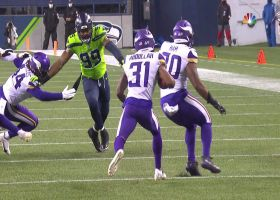 'My goodness gracious!' Collinsworth loves huge special teams hit