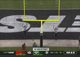 Jets fans roar after Sam Ficken nails 46-yard FG