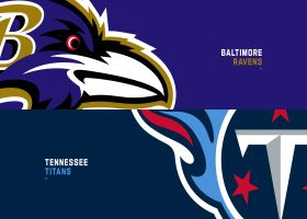 Gregg Rosenthal's score prediction for Ravens-Titans on Super Wild Card Weekend