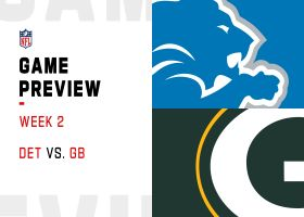 Lions vs. Packers preview | Week 2