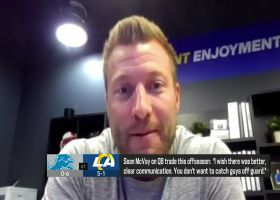 Sean McVay discusses his first game ever against Jared Goff
