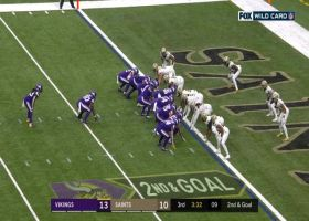 Dalvin Cook hits the hole at full speed for second TD