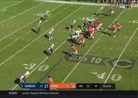 Eddy Pineiro's game-winning FG try is no good after hooking left