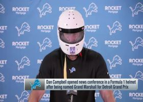 Dan Campbell discusses Lions' interest in Todd Gurley