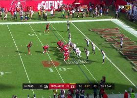 Grady Jarrett drops Jameis Winston for sack